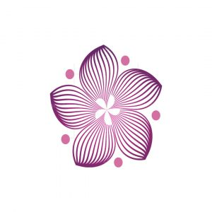 Multiline Flower Logo