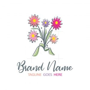 Colourful Flowers Logo