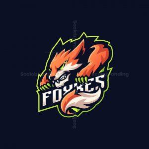Foxxes Mascot Logo