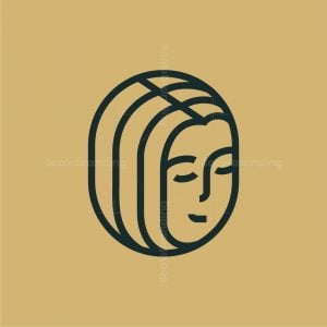 Geometric Woman Logo