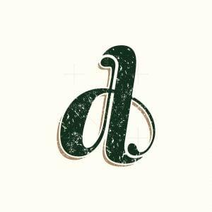 Vintage D Letter Logo