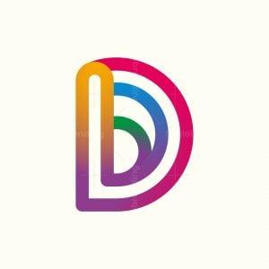 Letter D Colors Logo