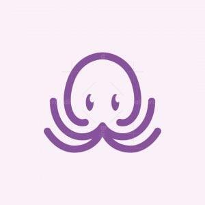 Baby Octopus Logo