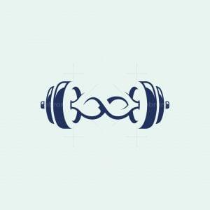 Infinity Dumbbell Logo