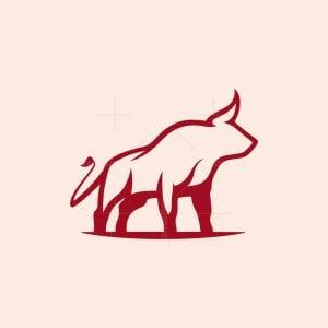 Elegant Bull Logo