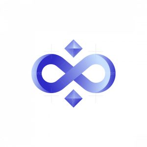 Abstract Infinity Logo