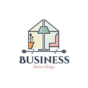 Interior Home Design Logo
