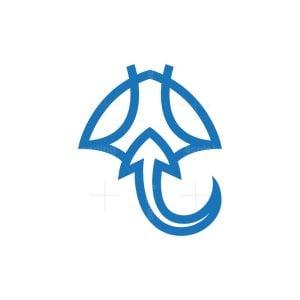 Stingray Logo Manta Ray Logo