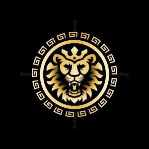 Greek Lion Logo