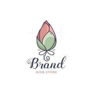 Lotus Bud Kids Logo
