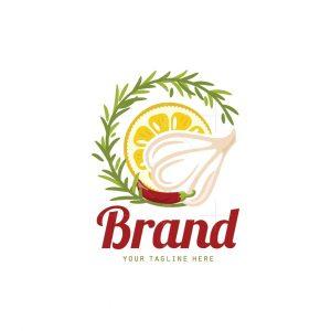 Marinade Sauce Pictorial Logo