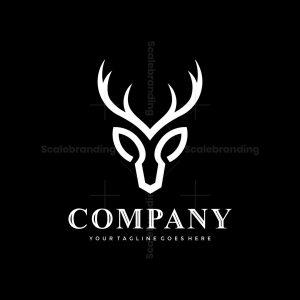 Minimal Deer Logo
