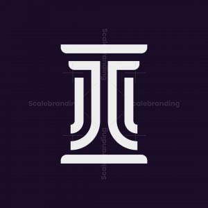 Letter Jc Law Logo