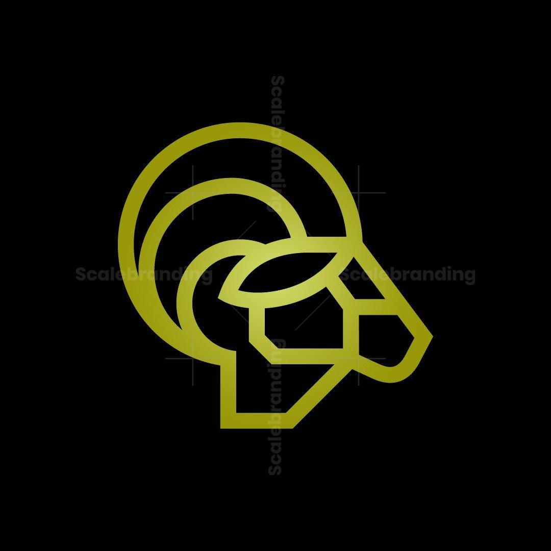 Profile Ram Logo Ram Head Logo Goat Logo