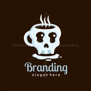 Melting Skull Coffee Logo