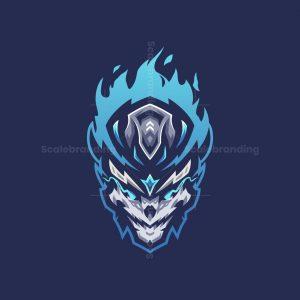 Soul Skull Mascot Logo