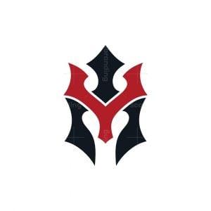 Spartan King Or Letter Y Logo