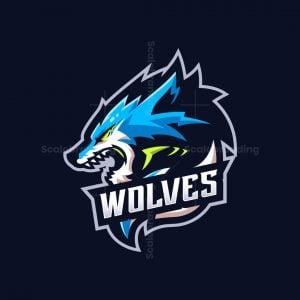 Wolves Macot Logo