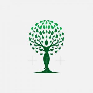 Tree Woman Logo