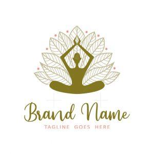 Meditation Yoga Logo