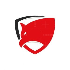 Shield Eagle Head Logo