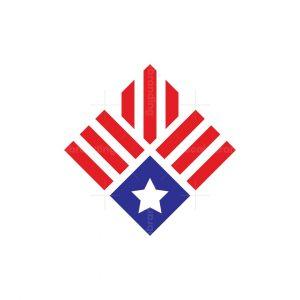 Simple American Medal Logo