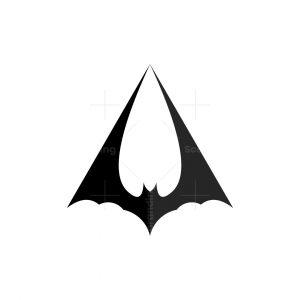 Triangle Bat Logo