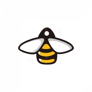 Bee Discount Tag Logo