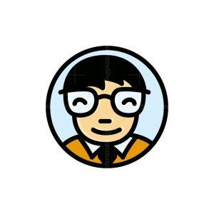 Nerd Man Logo