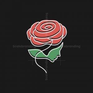 Woman Rose Logo