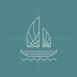 Minimalist Boat Logo