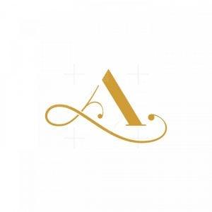 A L Monogram Logo