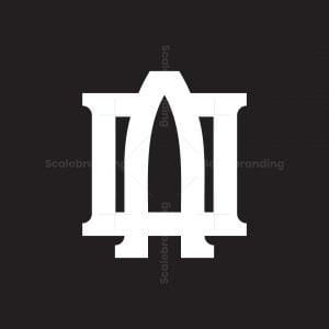 Letter Ao Logo