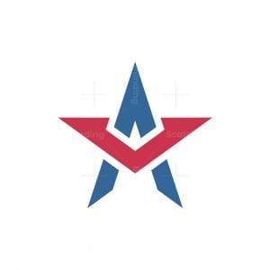 A Or Av Star Logo