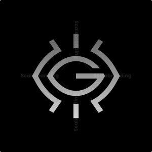 Abstract G Eye Logo