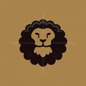 Afro King Lion Logo