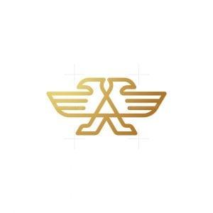 Alliance Eagle Letter A Logo