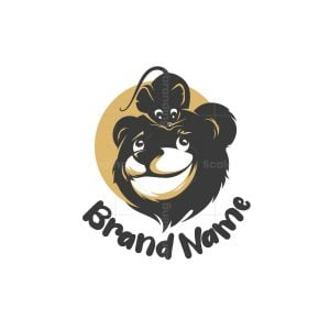 Bear And Mouse Logo
