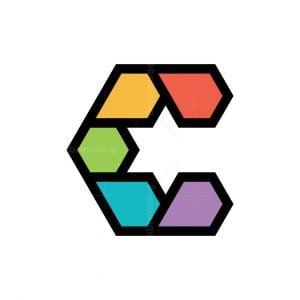 Colorful C Star Logo