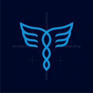 Dna Wing Logo