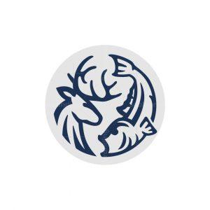 Deer Fish Logo