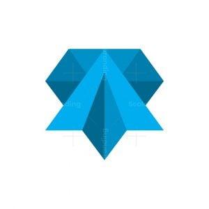 Diamond Plane Logo