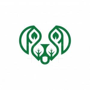 Dog Leaf Logo