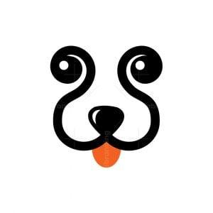 Dog Letter W Logo