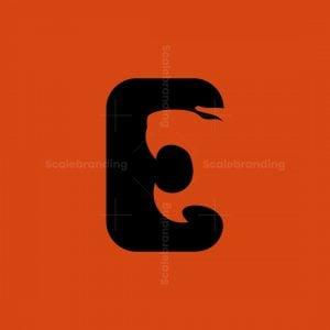Letter E Tiger Logo
