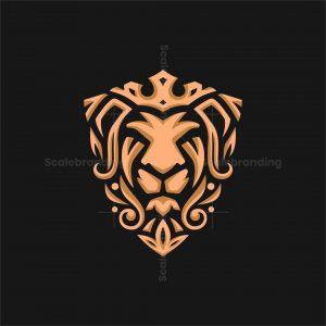 Elegant Lion King Logo