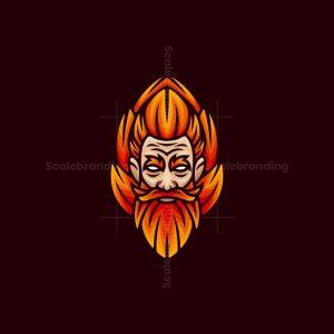 Fiery Man Logo
