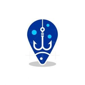 Fishing Location Logo
