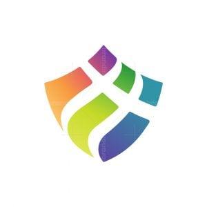 Fullcolour Modern Shield Logo
