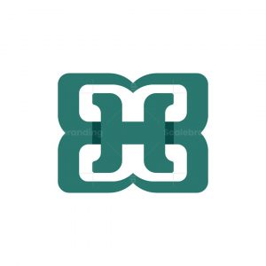 Letter Hb Or Bh Logo